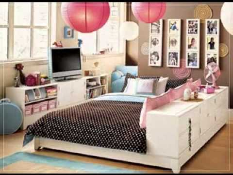 DIY Bedroom decorations for young women - YouTube