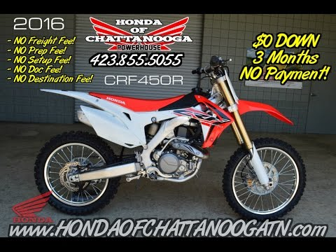2016 Crf450r Review Of Specs 450r Price Honda Chattanooga Tn Crf S