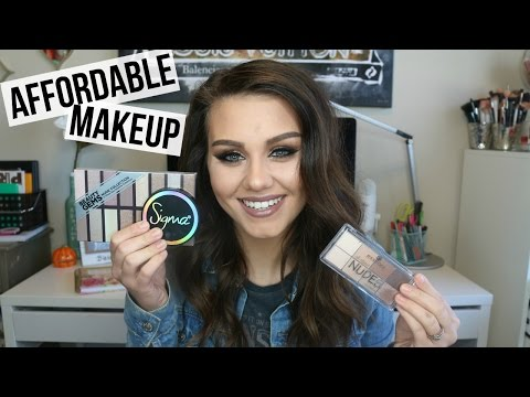 Affordable Makeup Tut + Trying New Brands!