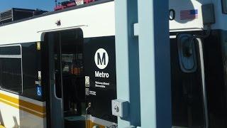 Ridin Expo Line (Los Angeles Metro)  LaCieniga to La Brea Station