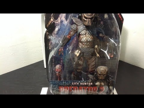 NECA Masked City Hunter (Predator Series 7) Figure Review