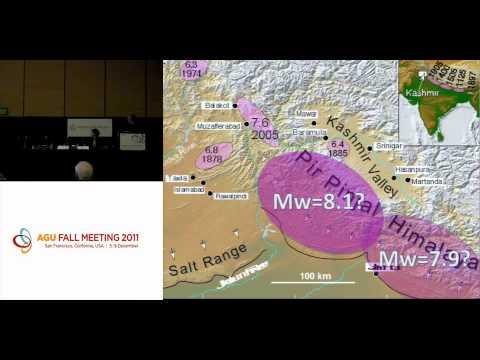 AGU FM11 - Is a megaquake brewing in the high Himalaya?