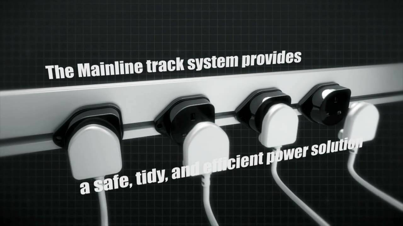 Mainline Power Track System With Uk Adapters Youtube