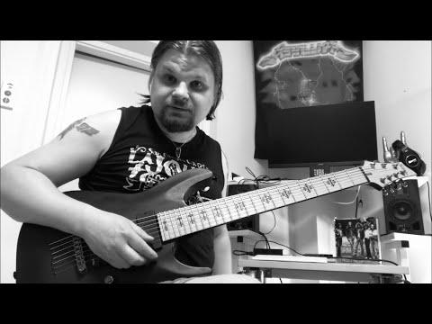 Fireproven - Waves of Extinction - Official guitar tutorial part 8. THIRD VERSE