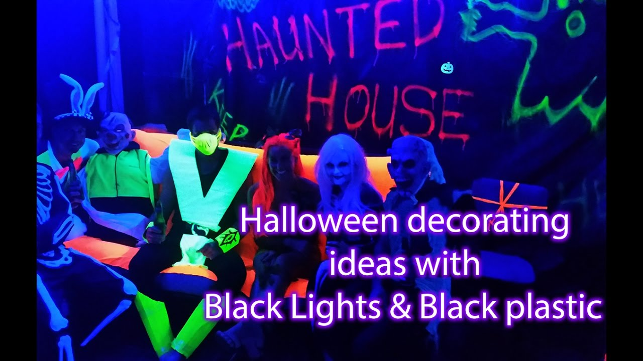 Decorating Idea With Uv Black Light