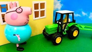 Świnka Peppa ☺ Hejjjj co robi tu ten traktor ☺ Bajka dla dzieci PO POLSKU