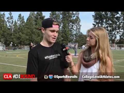 Tate Martell Interview (Bishop Gorman QB): #D1Bound Reporter Alexa Shaw - CollegeLevelAthletes.com