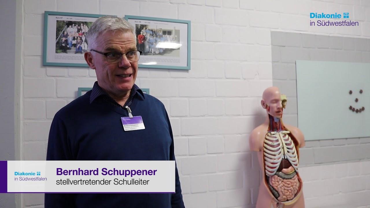 Youtube Video: Tag der Ausbildung 2019 – Pflegebildungszentrum der Diakonie in Südwestfalen