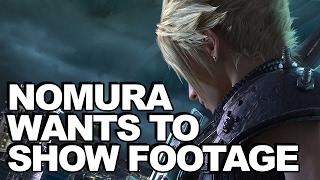 Square Enix Stopped Nomura Showing Final Fantasy VII Remake Gameplay