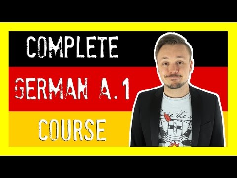 Learn German For Beginners 🇩🇪 The Complete Course (Level A.1) | Get Germanized