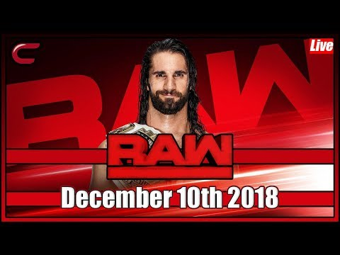 WWE RAW Live Stream Full Show December 10th 2018: Live Reaction Conman167