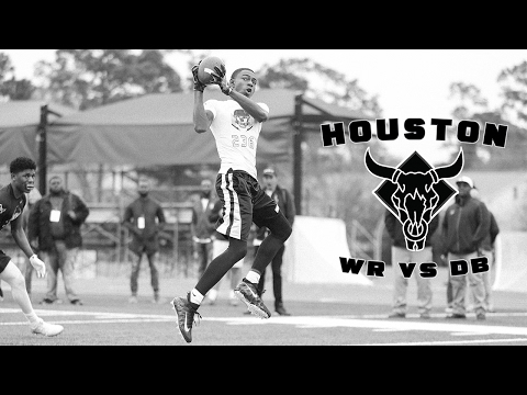 Nike Football's The Opening Houston | WR vs DB 1 on 1's