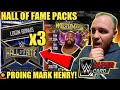 HALL OF FAME PACK OPENINGS, PROING MY WM34 MARK HENRY + MORE! Noology WWE SuperCard Season 4!