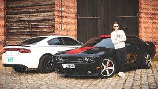 Samochody z DUBAJU: Dodge Challenger SRT8 i Charger R/T