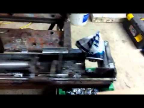 how to make a homemade electric can crusher