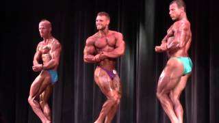 Bodybuilder Karl Mackey 2015 NPC Iron Bay Classic