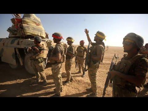 القوات العراقية تدخل تلعفر