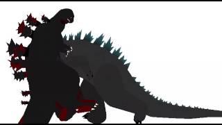 Little sticks origin episode 22:Legendary Godzilla vs shin gojira