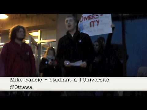 Ann Coulter chassée du campus de l'université d'Ottawa