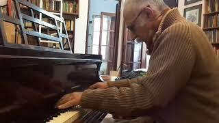 Concierto para clave en Re Mayor, BWV 1054 de J.S. Bach (2do movimiento) por Leo Maslíah