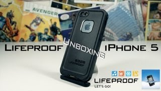 Lifeproof iPhone 5 Waterproof Case Unboxing & Installation