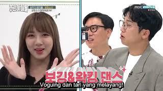 Weekly Idol episode 375 SUB INDO (Yuri (Girls' Generation) Weekly Thumb-dol: GWSN)