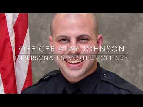 Officer Ajay Johnson Of Brunswick Hills Police Impersonates Officer