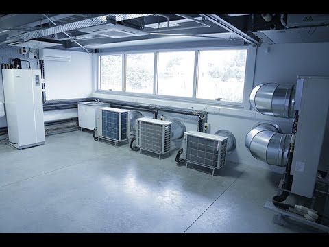 Frederick University Mitsubishi Air-Con Lab