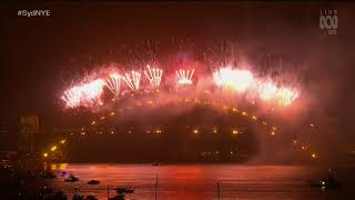 Sydney New Years Eve 2019-2020 Midnight Fireworks - Original Soundtrack (1080p 50fps)