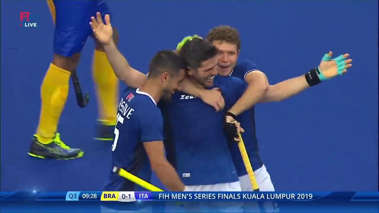 Brasile-Italia: 0-3 #Finals #HockeySeries - Highlights