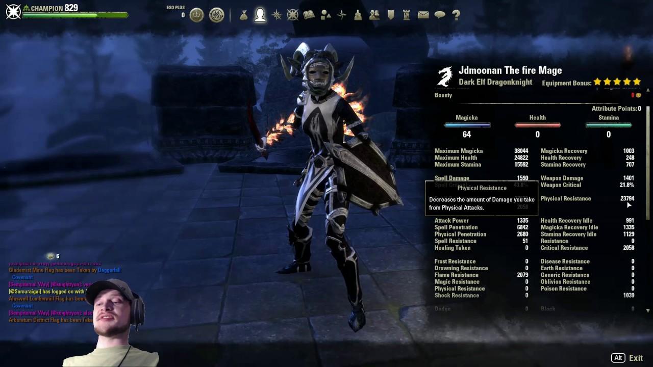 Magicka Dk Pvp Build Morrowind