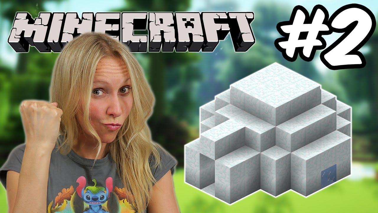 Lets Play MINECRAFT Wir Bauen Ein Iglu Pandido Gaming YouTube - Minecraft lustige hauser