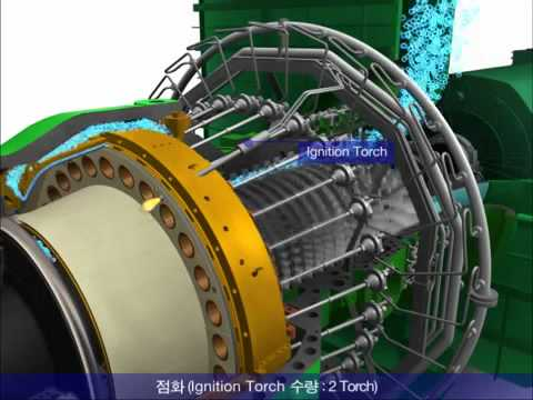 gas turbine power plant.mp4