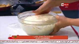 المطبخ مع الشيف أسماء مسلم | طريقة عمل عجينة سندوتشات المدارس وحشوها في المنزل