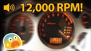 7 Cars With Ridiculously High Redlines!!