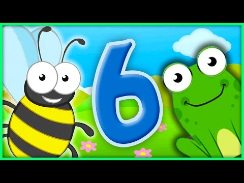The Number 6 | Number Songs By BubblePopBox | Learn The Number Six