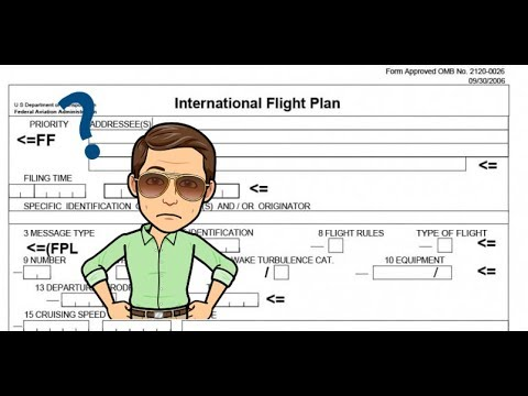 Modes And Codes - All About ADS-B And The ICAO Flight Plan Form