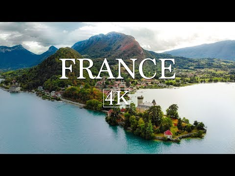 France By Drone (4K)