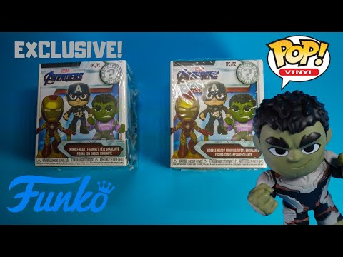 Avengers ENDGAME FUNKO Mystery Minis EXCLUSIVE Pajama Party TOYS Unboxing