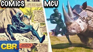 15 MCU Scenes Taken Straight From The Comics