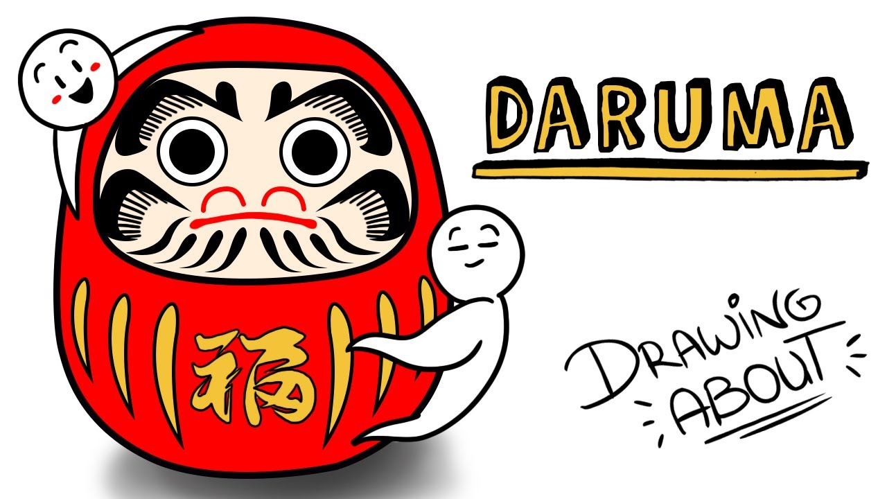 DARUMA, EL AMULETO JAPONÉS DE LOS PROPÓSITOS | Draw My Life