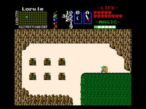 Zelda Classic - 1st Quest Deluxe Remake - 06 - Picking Up A Handy Item