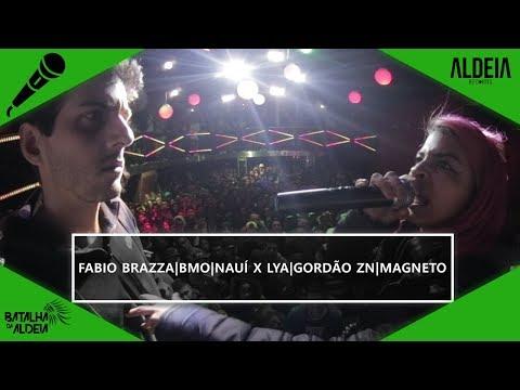 Fabio Brazza, BMO, Nauí X Magneto, Lya E Gordão ZN | SEGUNDA FASE | BDA 2 ANOS | Batalha De Trio