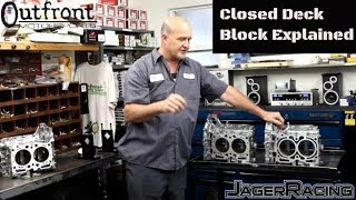 outfront motorsports closed deck block explained