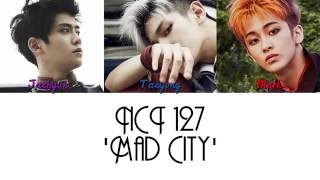 Nct 127 (taeyong, jaehyun & mark) 'mad city' from the 1st mini album 'nct #127' taeyong mark contributed to lyrics. please watch firetruck mv here;...