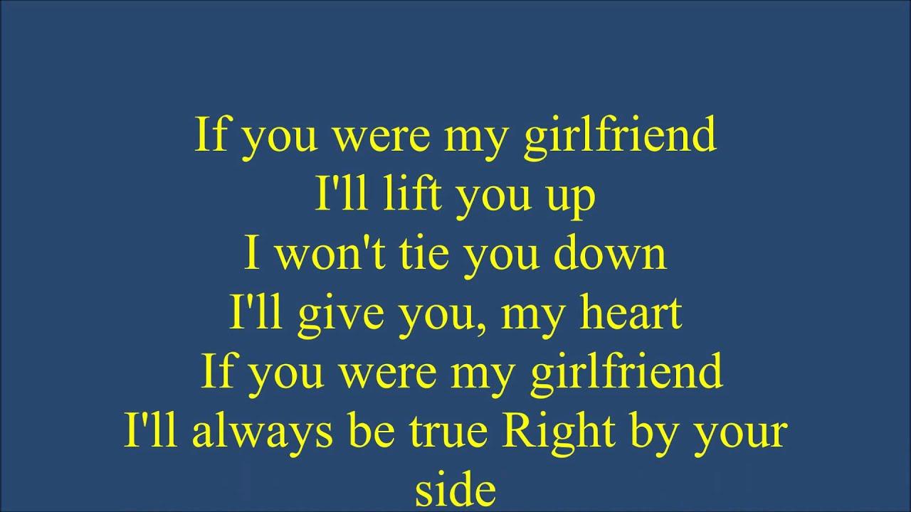 Frankie J If You Were My Girlfriend Youtube