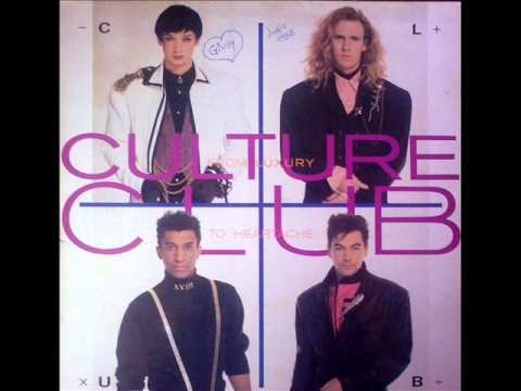 """""""God tank you woman"""" Culture Club (From luxury to heartache) 1986"""