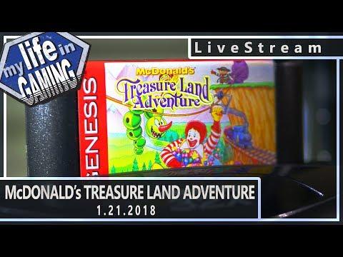 McDonald's Treasure Land Adventure :: 1.21.2018 LiveStream / MY LIFE IN GAMING - McDonald's Treasure Land Adventure :: 1.21.2018 LiveStream / MY LIFE IN GAMING