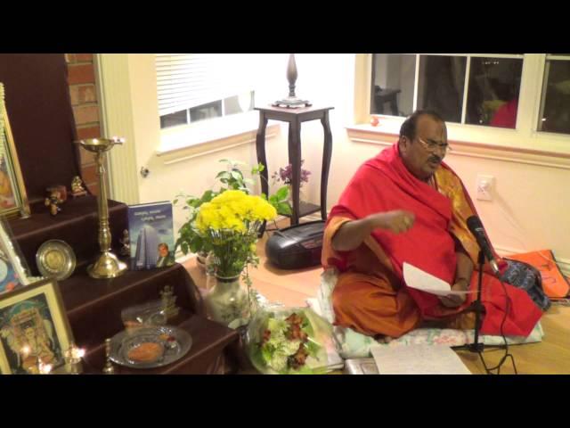 Uddhava Gita Discourse by Dr. Aralumallige Parthasarathy (Dallas, Texas November 7, 2013)