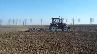 QLN 55hp tractor with farm implements_Henan Qianli_Bruce Woo_Email:sales04@qln-tractor.com